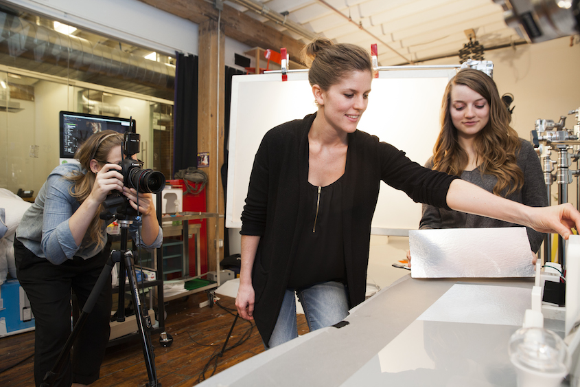 Go behind the scenes with the photo team