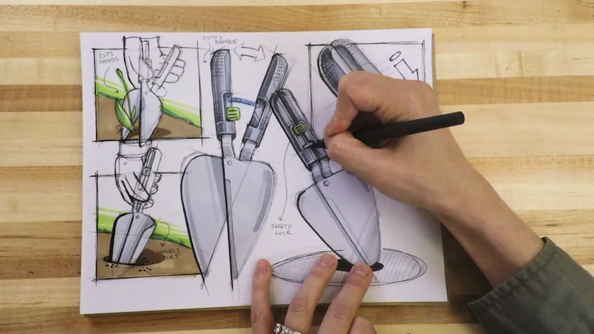 Quirky+Skillshare: How to sketch like an industrial designer